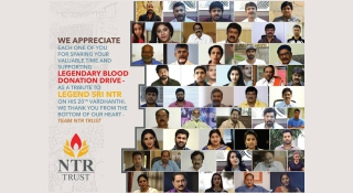 Famous personalities supported Legendary Blood Donation Drive