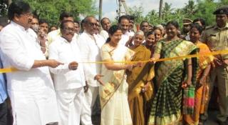 Activities held in Komaravolu village adopted by Smt.Nara Bhuvaneswari