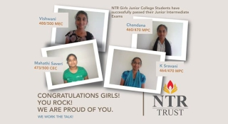 NTR Junior College Intermediate Toppers