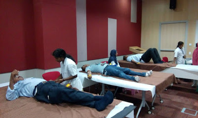 Voluntarily Blood Donation Camp at Microsoft, Hyderabad – 08 & 09th June 2015