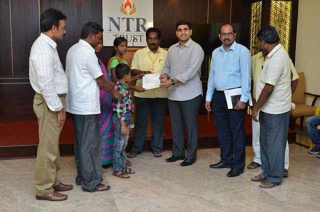 NTR Trust provided free education to two orphan children