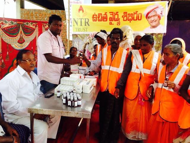 Medical Camps at Rajahmundry & Kaleswaram