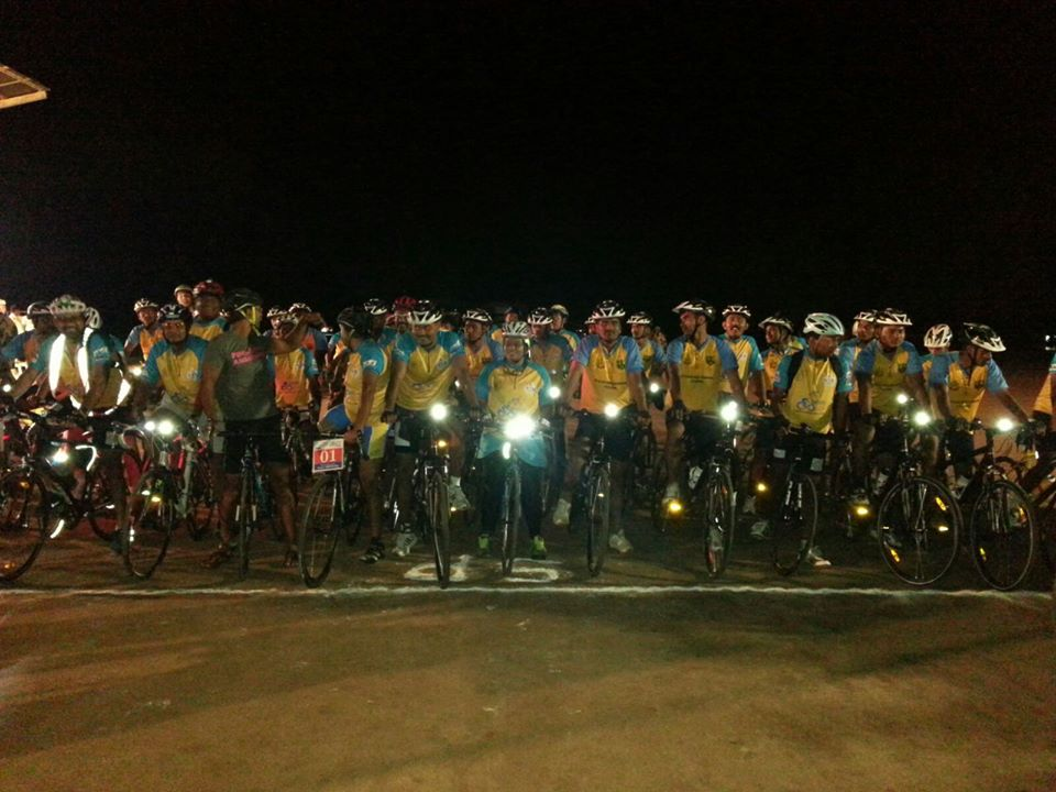 Infinity Ride 2015 ride flagged off