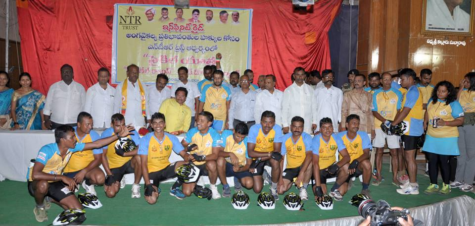 Felicitation Infinity Ride event in Anantapur