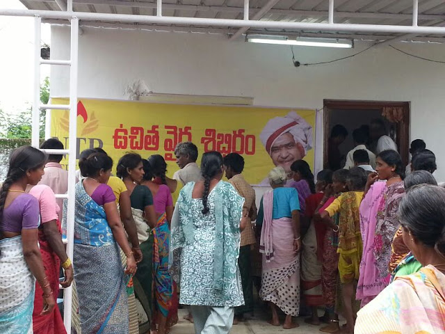 Soothing touch to 3,000 people at Buddaram Village,Warangal