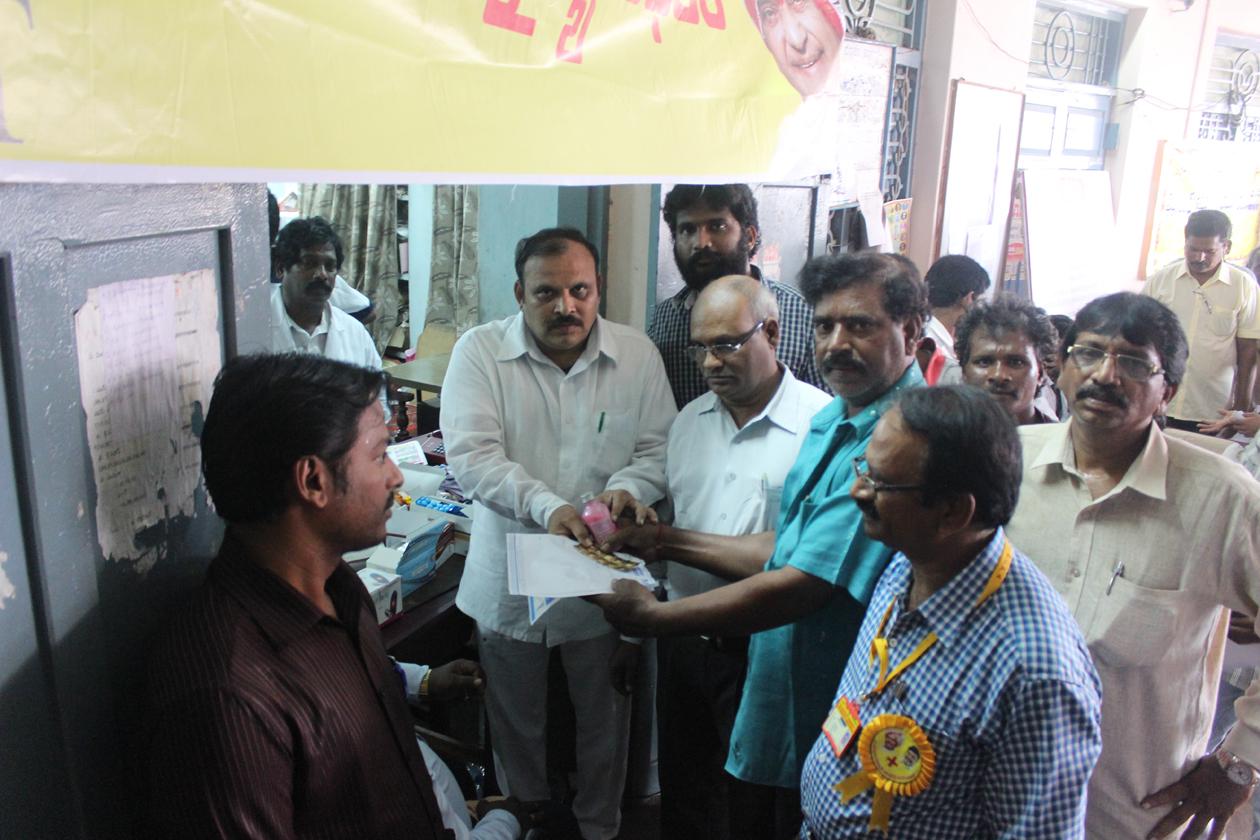 Medical Camp at Machilipatnam